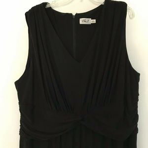 Black Evening Jumpsuit Eliza J 3X